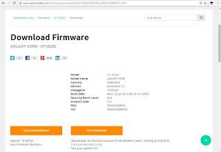 Download Firmware Samsung I8262 BI