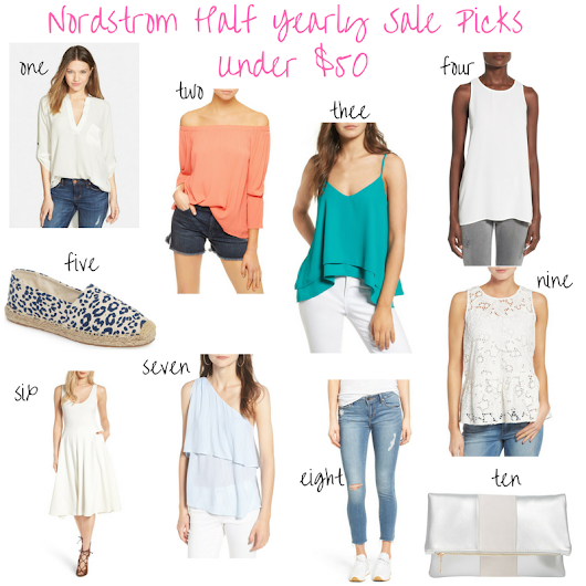 Nordstrom Half Yearly Sale Picks Under $50