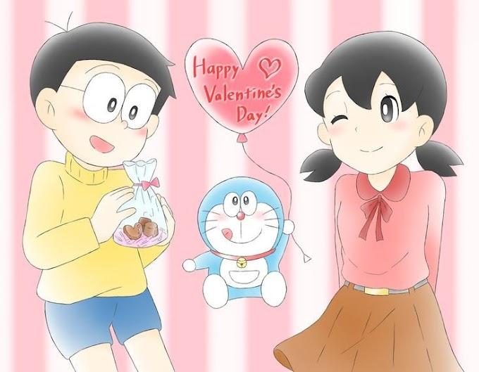 Doraemon: Nobita Shizuka Love HD Wallpaper / Photos
