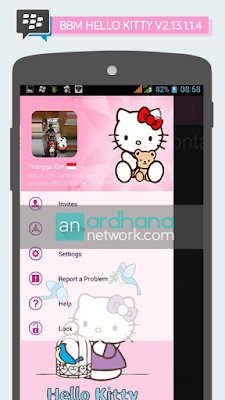 BBM Windows Phone Hello Kitty