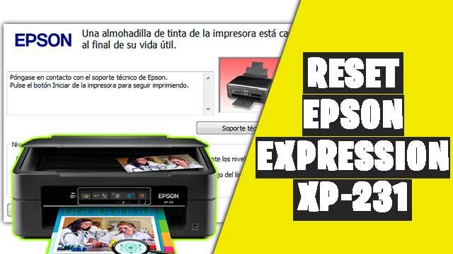 Cómo resetear impresora EPSON Expression XP-231