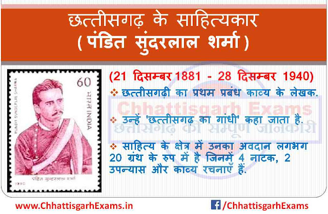 Lecturer of Chhattisgarh - Pandit Sundarlal Sharma