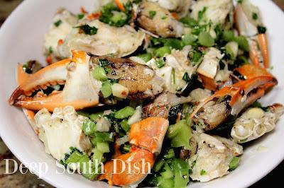 Deep South Dish Marinated Cracked Blue Crab Salad