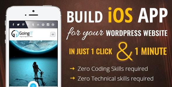 iWappPress v1.0.7 - builds iOS Mobile App for any WordPress Website