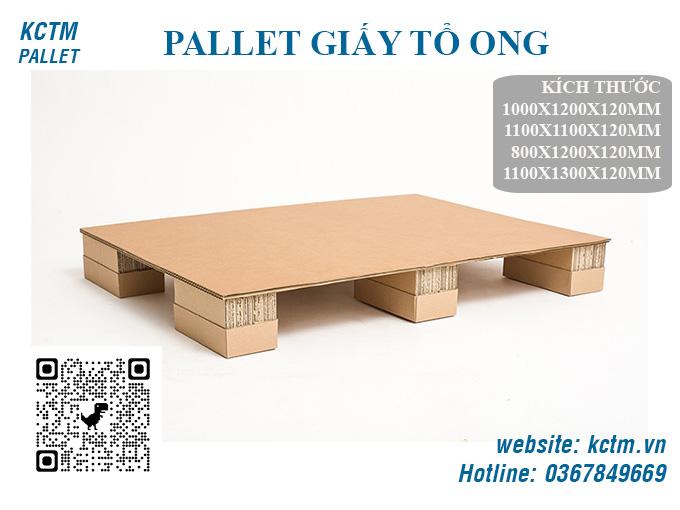 KCTM Pallet báo giá sỉ Pallet giấy tổ ong