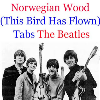 norwegian wood this bird has flown tabs the beatles how to play on guitar tabs sheet online. Black Bedroom Furniture Sets. Home Design Ideas