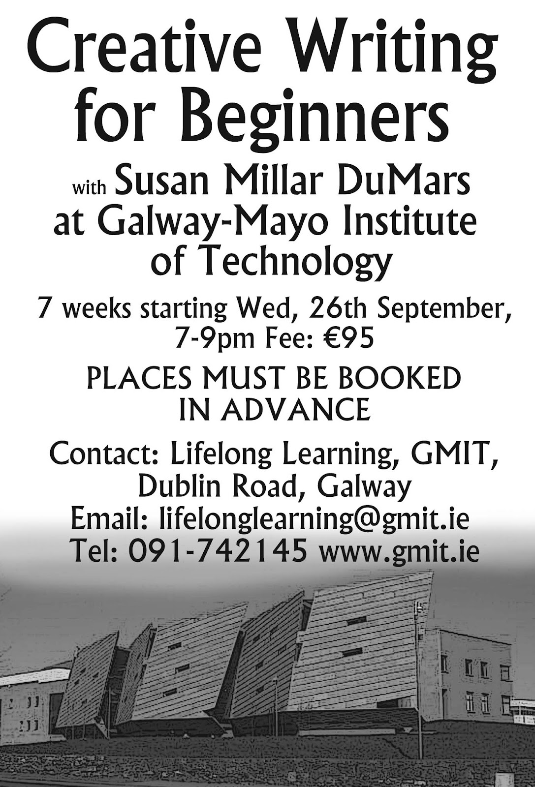 gmit creative writing course