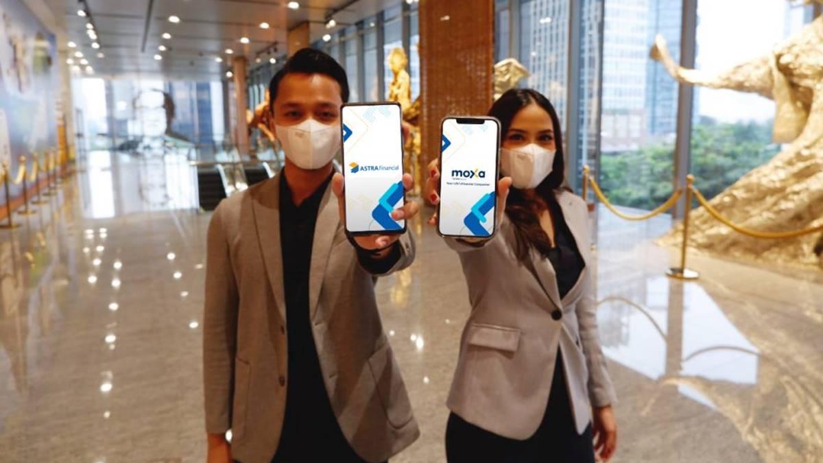 tampilan aplikasi MOXA di ponsel
