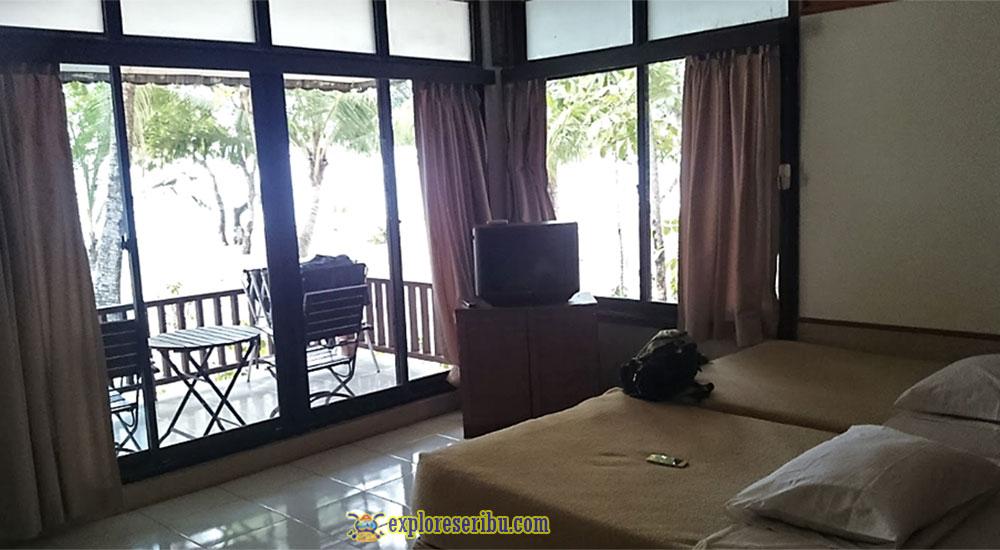 kamar-kamar di ciputih resort