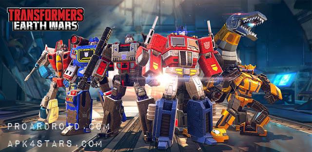 تحميل Transformers: Earth Wars كاملة للأندرويد مهكرة باخر تحديث