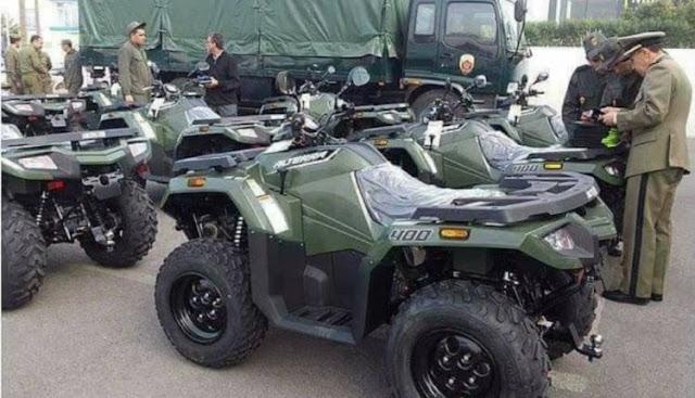 """بالصورة...القيادات الجهوية للقوات المساعدة توزع """"الكواد"""" على عناصرها لتشديد الحراسة على الشواطئ والمنتجعات في فصل الصيف"""