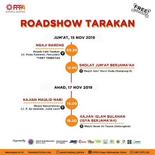 Roadshow Muzammil Hasballah - Kajian Islam Tarakan