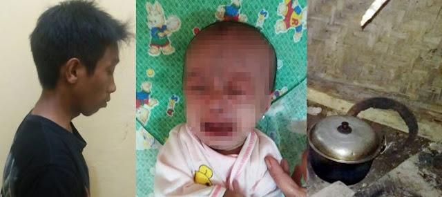 TEGA! Hanya Karena Lapar, Ayah Ini Melempar Bayinya Sendiri ke Tungku..