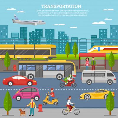 وسائل النقل باللغة الانجليزية Transportation in English