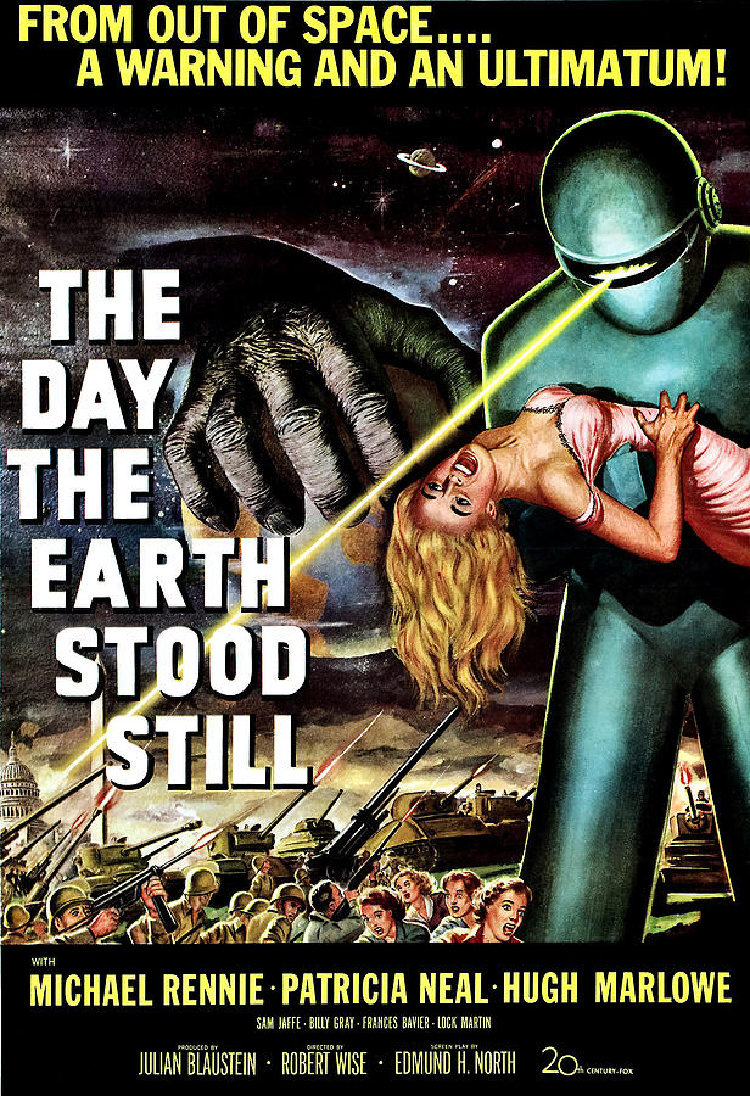 A Vintage Nerd, Vintage Blog, Classic Film Blog, Old Hollywood Blog, Classic Sci-Fi-fi Movies , The Day the Earth Stood Still