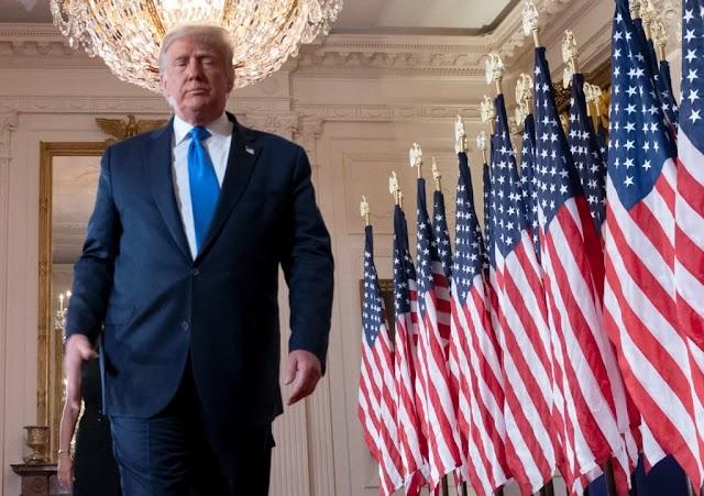 Trump se recusa a admitir derrota e afirma; 'Está longe de terminar'.