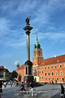 Sigismundsäule und Königsschloss