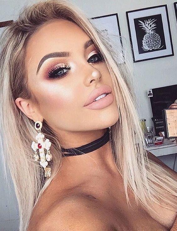 sexy gold makeup ideas
