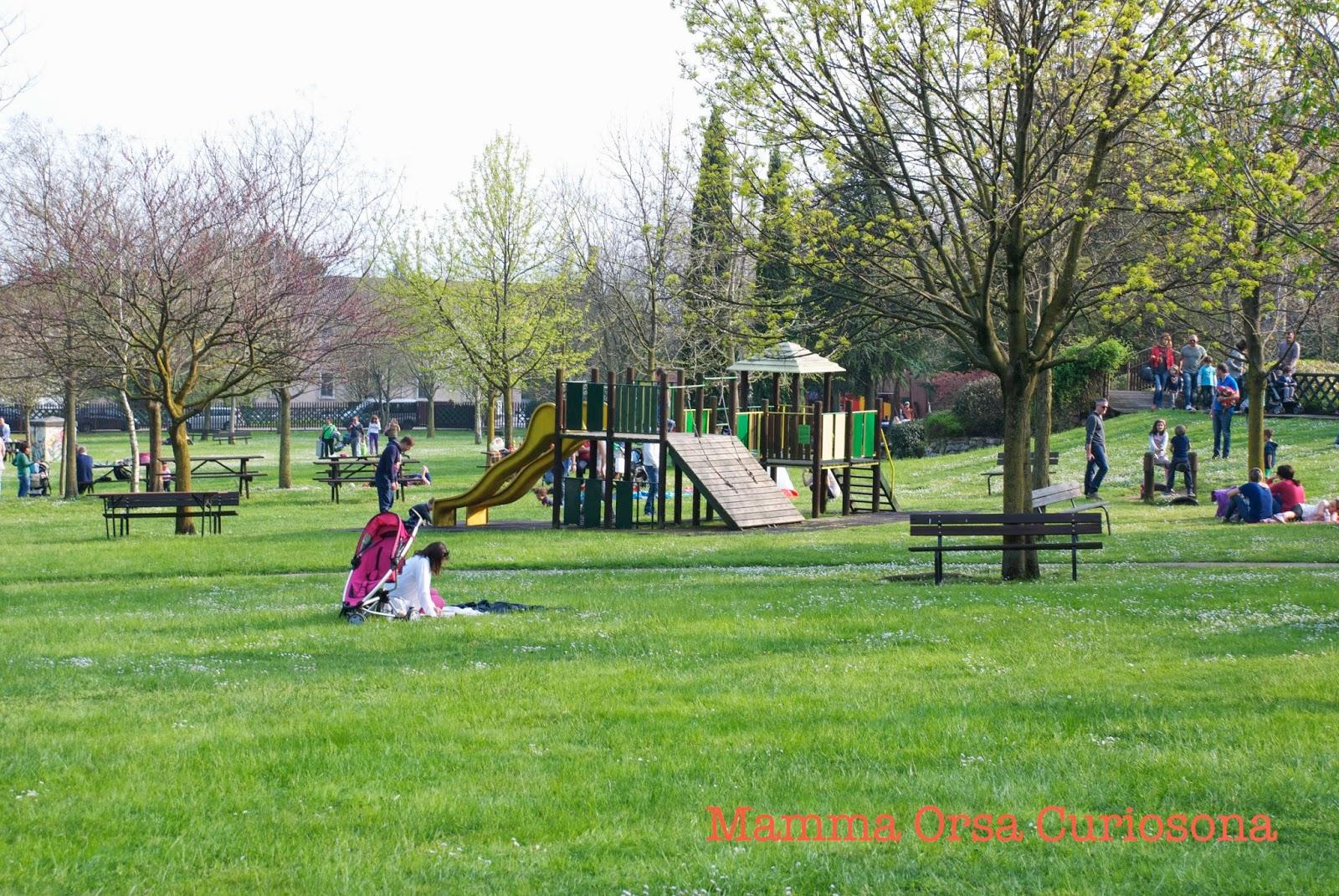 area attrezzata per bambini