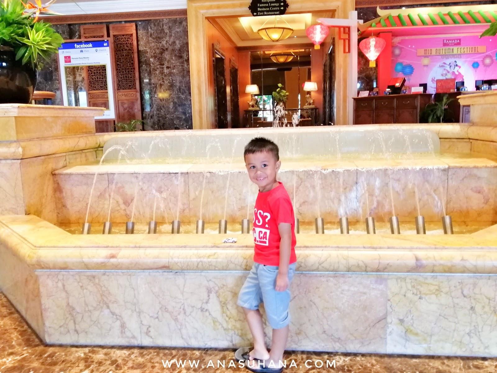 Hotel Ramada Plaza Melaka.