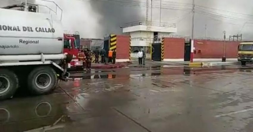 DRE CALLAO: Por incendio suspenden clases en 9 escuelas e institutos