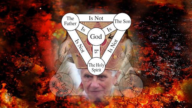 the Catholic image displaying the TRINITY faith,