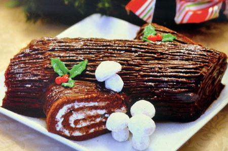 Bánh khúc cây lạnh vị socola – xoài