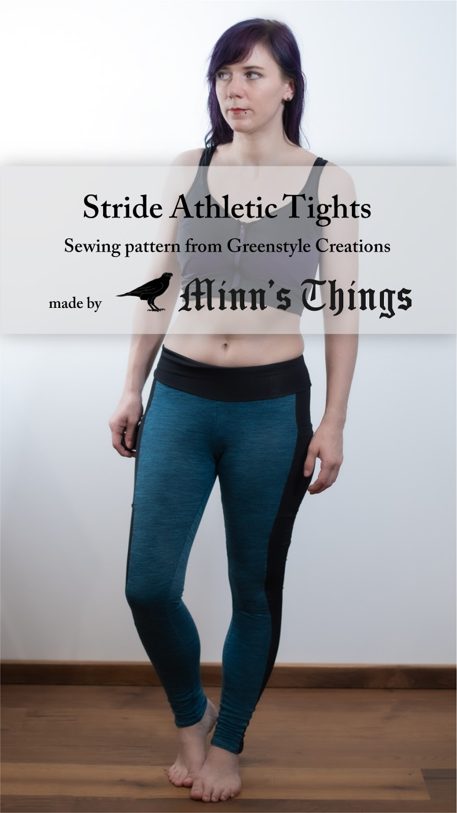 greenstyle creations stride athletic tights sports leggings pants sewing pattern review pinterest