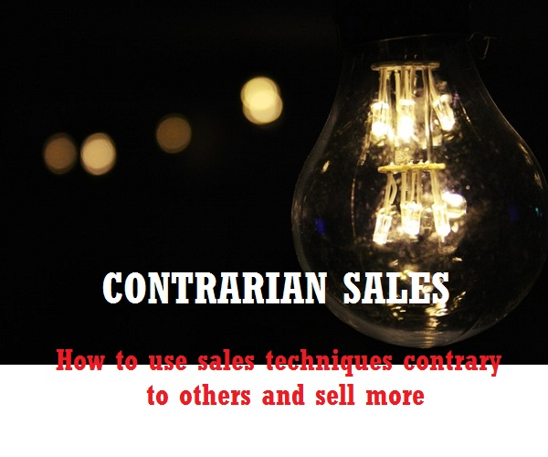 Contrarian Sales