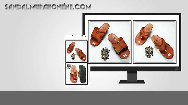 Sandal Levis Kulit Imitasi Asli Produksi Tasikmalaya