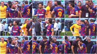 """Barca mất ngôi đầu: Lộ bằng chứng Messi & dàn SAO """"bật"""" HLV 2"""