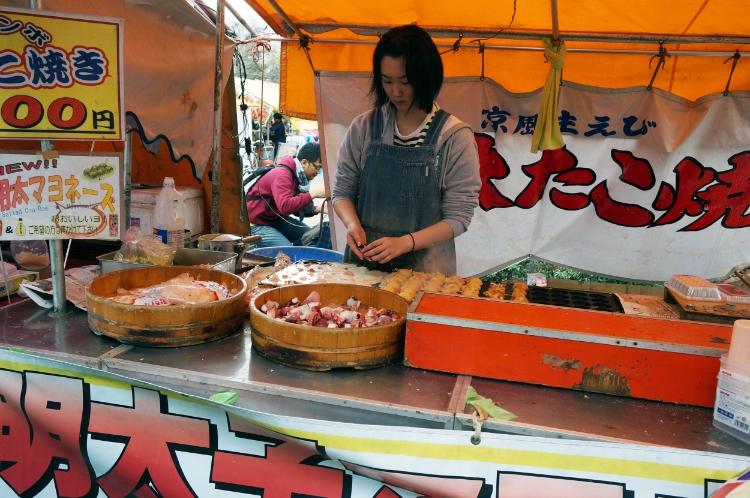 Tokyo, Japan, street food, Euriental