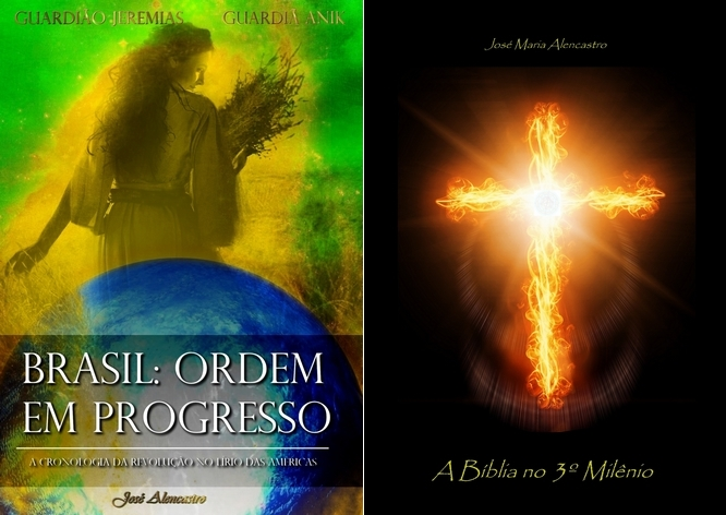 Livro Brasil Ordem em Progresso, guardiã Anik, guardião Jeremias, José Alencastro, 2036
