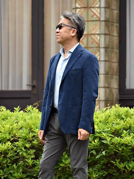 スーツ・ジャケットの袖丈の長さ