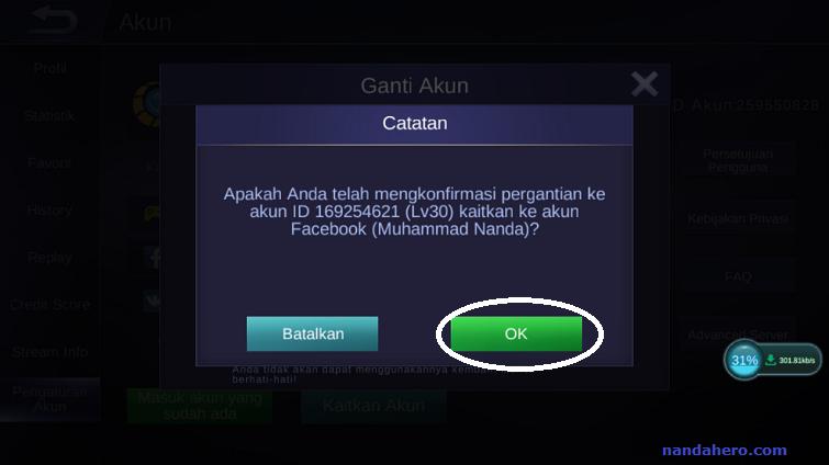 cara mendapatkan akun mobile legend yang hilang