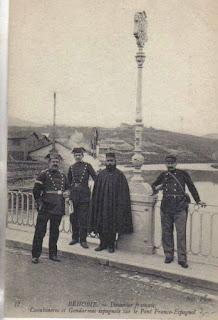 frontiere pays basque autrefois