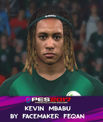 PES 2017 Kevin Mbabu Face by Feqan