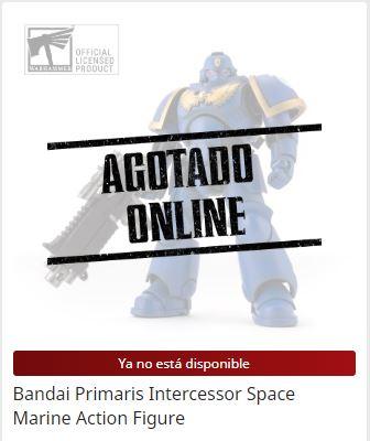 Bandai Primaris Intercessor Space Marine