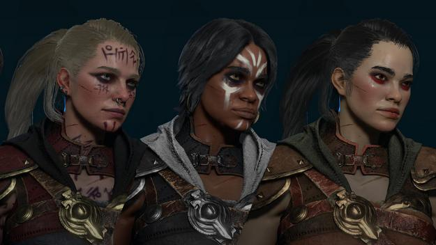Diablo 4 brings a change in the look of the characters