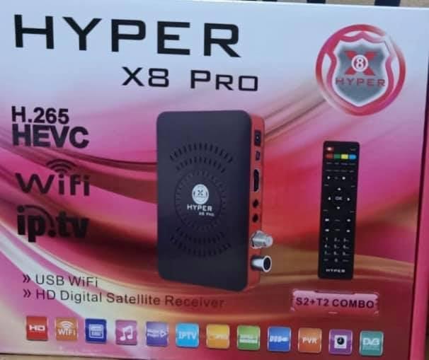 احدث ملف قنوات رسيفر هايبر hyper x8 pro