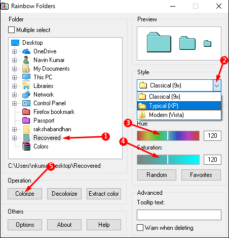 Method to Color to Folder Icon in Windows 10