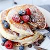 Fluffy Greek Yoghurt Healthy Pancakes Recipe
