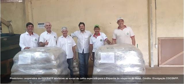 Pequenos produtores do norte pioneiro do Paraná comemoram primeira exportação direta de cafés especiais