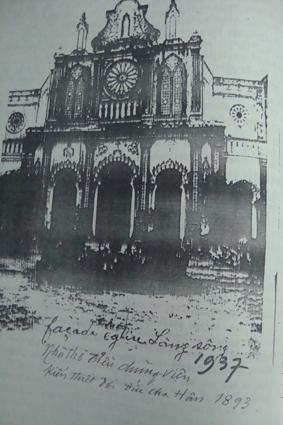 Sơ đồ Tiểu chủng viện, nhà in Làng sông