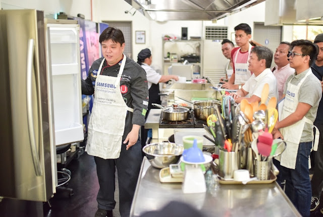 Samsung Digital Appliances' Cooking Workshop with Chef Ernest Gala