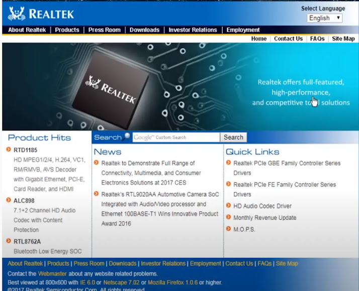 مميزات برنامج تعريف الصوت Realtek HD Audio Drivers
