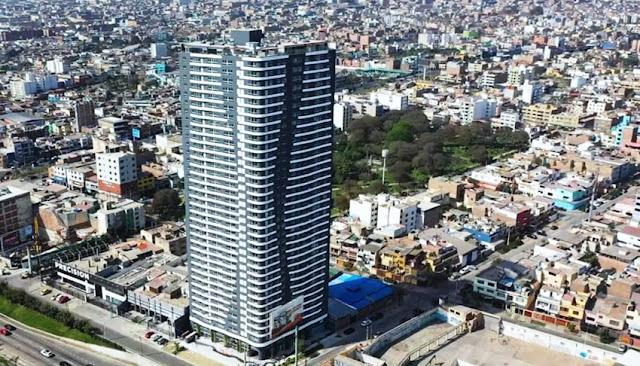 Edificio de vivienda más alto de Lima