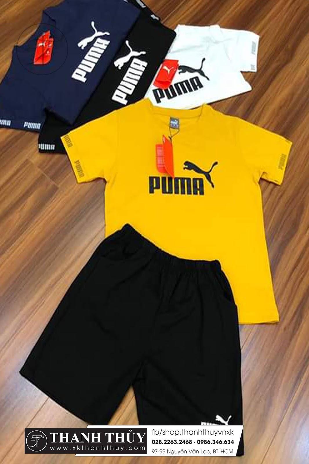 Bộ Set Puma Thun lạnh mát mẻ ngày hè