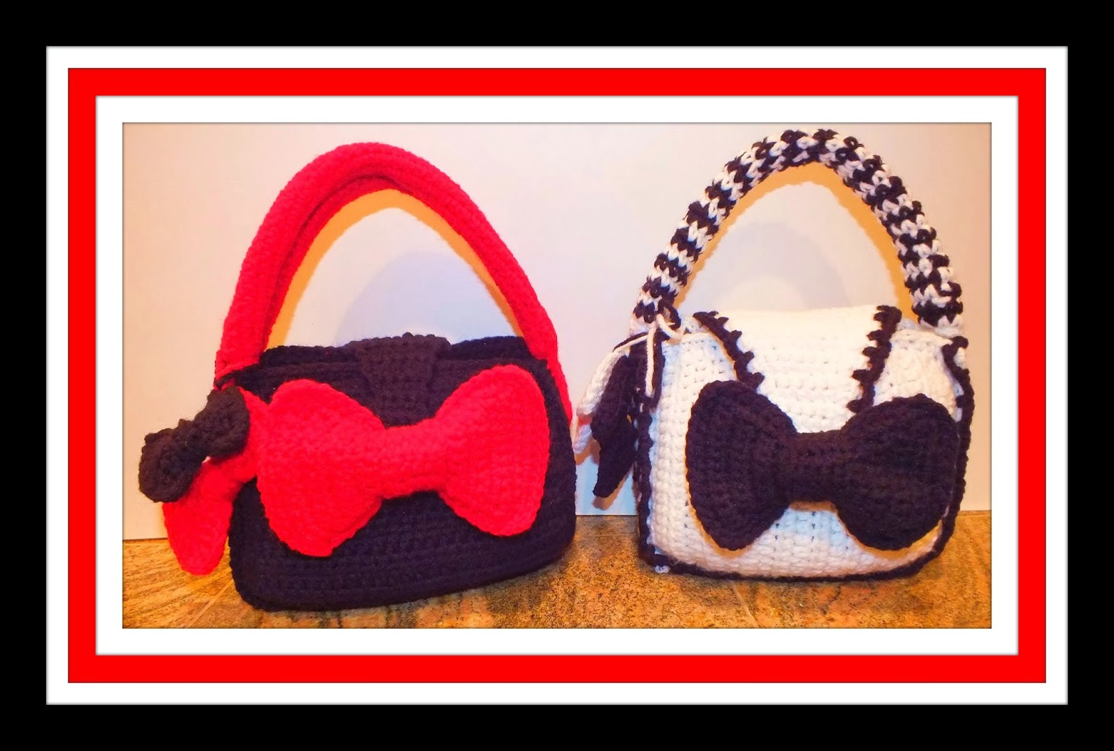 Handbag Baby Bow Satchel Purse Pattern© By Connie Hughes Designs©