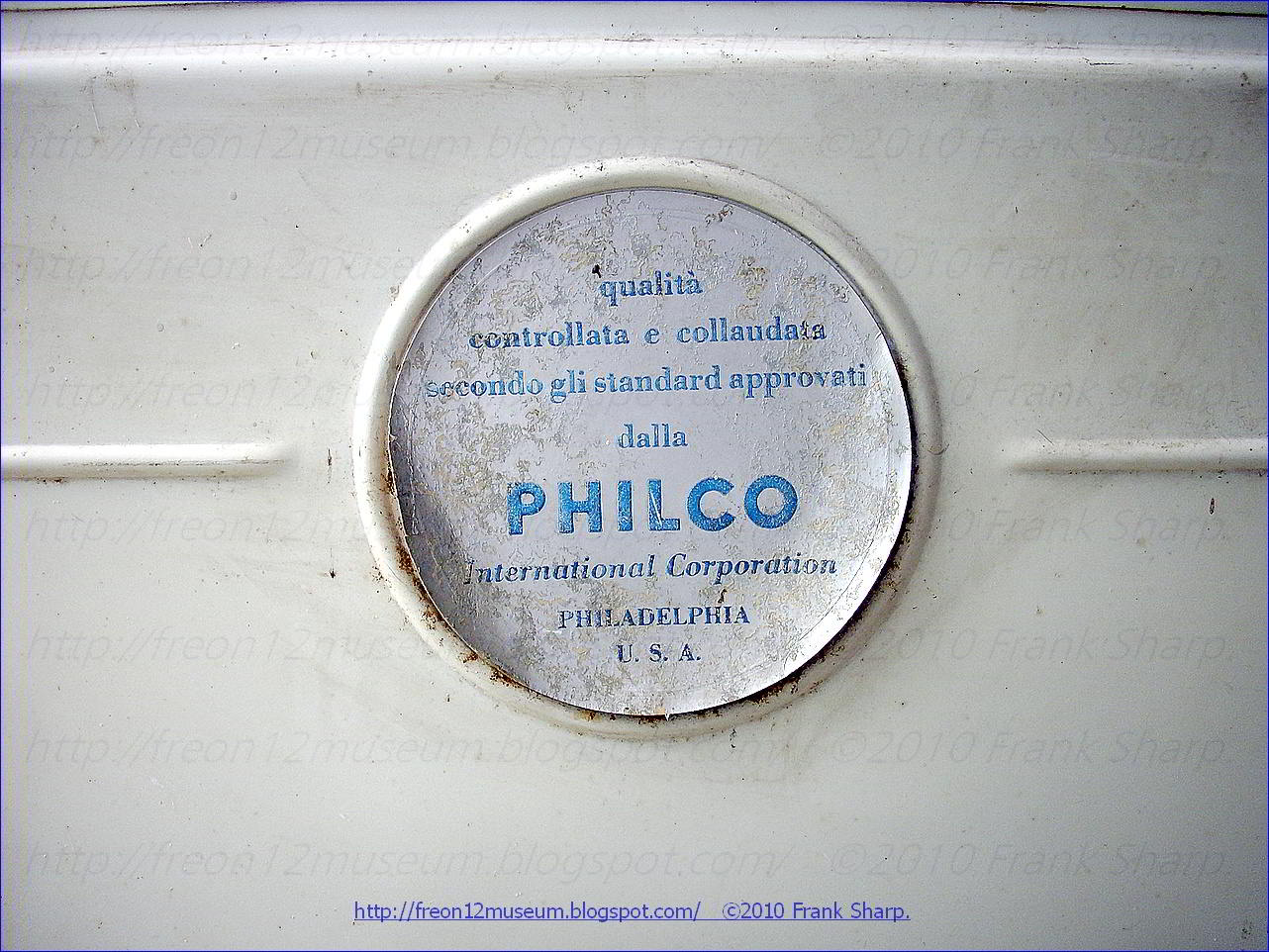 This ATLANTIC (PHILCO) MOD. 765 is another beast. After powering up the  compressor it comes to evaporation in 30 seconds and the refrigerator  compartment is ...
